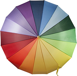 DUHA Duhový deštník smíšené barvy, rozměry 130 x 102 cm - reklamní deštníky