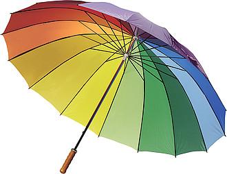 DUHA Duhový deštník smíšené barvy, rozměry 130 x 102 cm