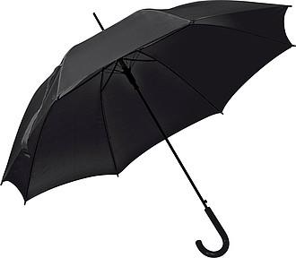 Deštník, automatické otvírání, černá