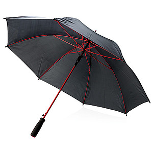 """AVERY Barevný 23"""" deštník ze sklolaminátu, červená"""