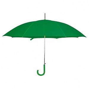 Deštník, automatické otvírání, zelená