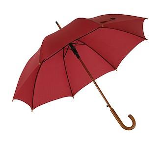 deštník, vínová. Průměr 103 cm.