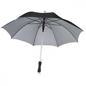 Deštník, automatické otvírání, odlehčený, UV ochrana, černá