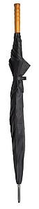 PICASSO Velký golfový deštník, černý, rozměry 130 x 105 cm - reklamní deštníky