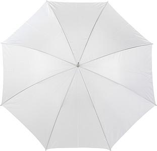PICASSO Velký golfový deštník, bílý, rozměry 130 x 105 cm - reklamní deštníky