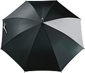 ALGARDI Automatický deštník, pr. 105 cm, černá šedá