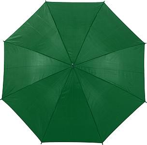 PICASSO Velký golfový deštník, zelený, rozměry 130 x 105 cm