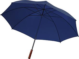 PICASSO Velký golfový deštník, modrý, rozměry 130 x 105 cm