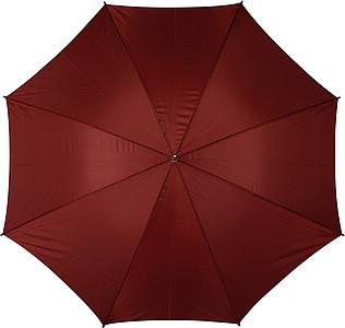 PICASSO Velký golfový deštník, vínový, rozměry 130 x 105 cm - reklamní deštníky