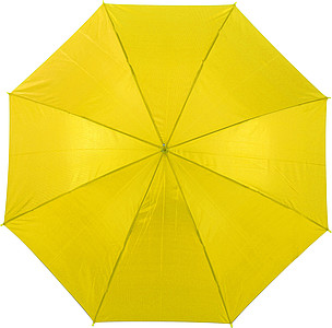 BOTTICELLI Vystřelovací deštník s barevným držadlem, žlutá - reklamní deštníky