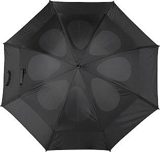 GOGH Deštník, černý, rozměry 130 x 100 cm - reklamní deštníky