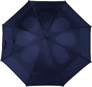 GOGH Deštník, modrý, rozměry 130 x 100 cm - reklamní deštníky