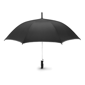 ULTOR Automatický větruvzdorný deštník s bílým prošíváním