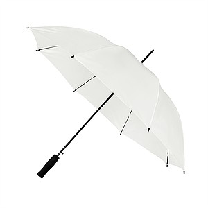 Automatický ultralehký holový deštník, průměr 102 cm, bílá