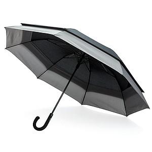 """Swiss Peak rozpínací deštník 23"""" až 27"""", černá"""