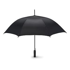 """Automatický deštník 23"""", černá kovová konstrukce, černý"""