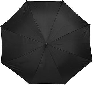 Automatický deštník Charles Dickens, černý, rozměry 114 x 90 cm - reklamní deštníky