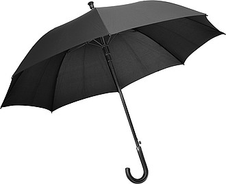 Automatický deštník Charles Dickens, černý, rozměry 114 x 90 cm