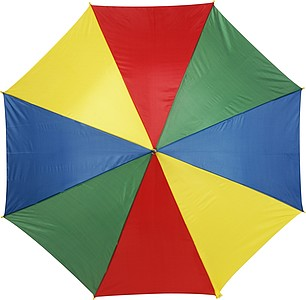 ALLEY Deštník s osmi barevnými panely, rozměry 102 x 84 cm, 4 barvy - pláštěnky