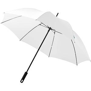 Automatický deštník, konstrukce ze skelných vláken, bílá - reklamní deštníky