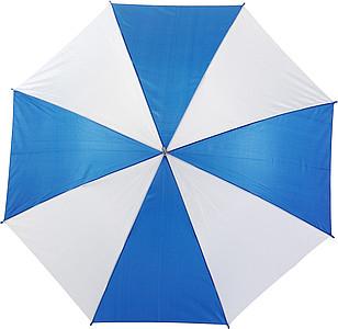 ALLEY Deštník s osmi barevnými panely, rozměry 102 x 84 cm, modrý - reklamní deštníky