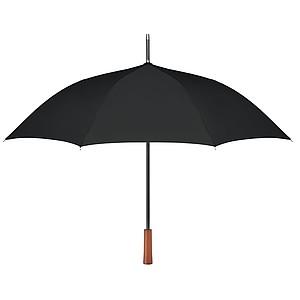 Deštník s automatickým otevíráním ze 190T RPET pongee materiálu, pr.103cm, černý