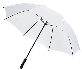 Deštník pro 2 osoby odolný proti větru, bílý, Průměr 131 cm