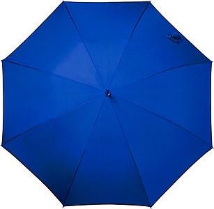 FRIXOS Automatický větruvzdorný deštník, rozměry 100 x 86 cm, modrý - reklamní deštníky