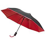 """Automatický deštník 21"""", černá, červená"""