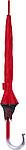 FRIXOS Automatický větruvzdorný deštník, červený