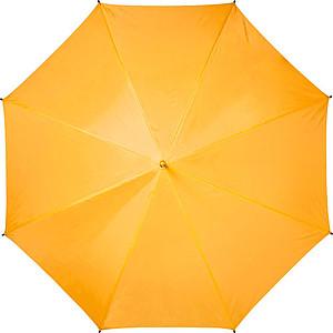 BRAMANTE Automatický deštník s pěnovou rukojetí, oranžový