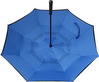 ALMARET Dvouvrstvý deštník, rozměry 105 x 85 cm, černo modrá