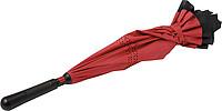 Dvouvrstvý deštník, černo červený - reklamní deštníky