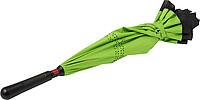 ALMARET Dvouvrstvý deštník, rozměry 105 x 85 cm, černo zelená - reklamní deštníky