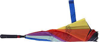 TERAM Vícebarevný dvouvrstvý deštník - parametry 107 x 77 cm - reklamní deštníky