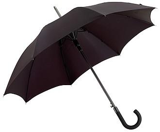 AMADEUS Automatický holový deštník, pr. 103cm, černý - reklamní deštníky