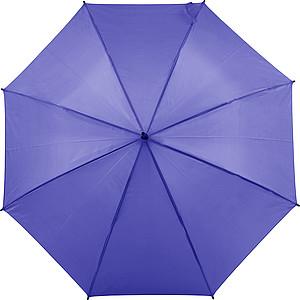 Automatický deštník vyrobený z pongee, fialový, parametry 102 x 85 cm