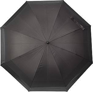 NARDOL Velký rodinný deštník, černá, parametry 124 x 83 cm - reklamní deštníky