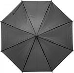 PEBAN Klasický automatický deštník, pr. 100cm, černý - reklamní deštníky