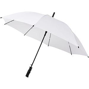 Větruodolný deštník s automatickým otevíráním, průměr 105 cm, bílá - reklamní deštníky