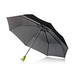 Skládací deštník se zelenou designovou rukojetí - reklamní deštníky
