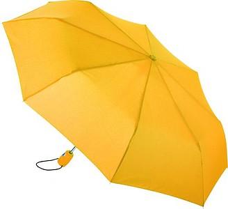 GAUGAIN Skládací deštník AOC mini umbrella, žlutá - reklamní deštníky