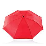 Skládací manuální deštník s kovovou konstrukcí, červená