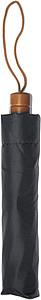 COHEN Skládací deštník, černá, rozměry 95 x 58 cm