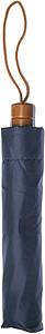 COHEN Skládací deštník, modrá, rozměry 95 x 58 cm - reklamní deštníky