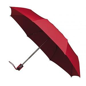 UMBERTO Skládací deštník se systémem open-close, červená