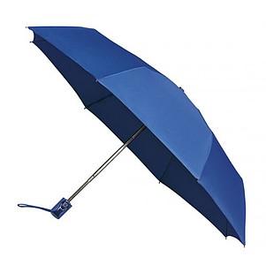 UMBERTO Skládací deštník se systémem open-close, královská modrá