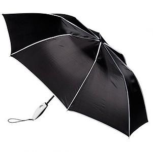 PARET skládací deštník, černá - reklamní deštníky