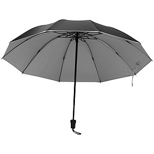 Skládací deštník, průměr 105cm, černý