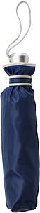 GIOVANNI Skládací deštník, automatické otvírání i zavírání, průměr 96 cm, modrý - reklamní deštníky